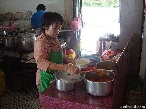 nasi lemak woman