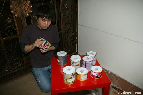 nippon paint painting table