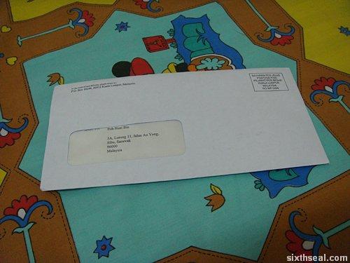 nuffnang envelope