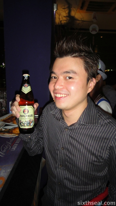 Oktoberfest Malaysia Paulaner Bier