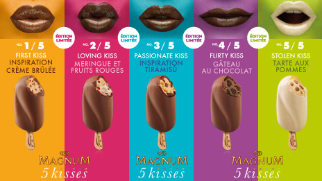 Magnum 5Kisses Limited