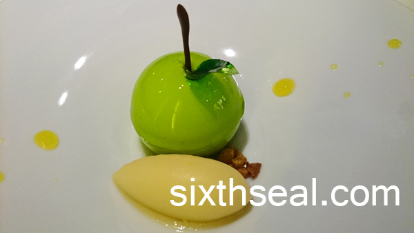 molecular gastronomy apple