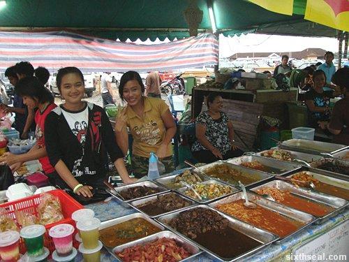 pasar ramadan girls