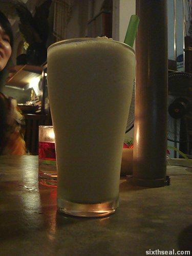payung green tea shake