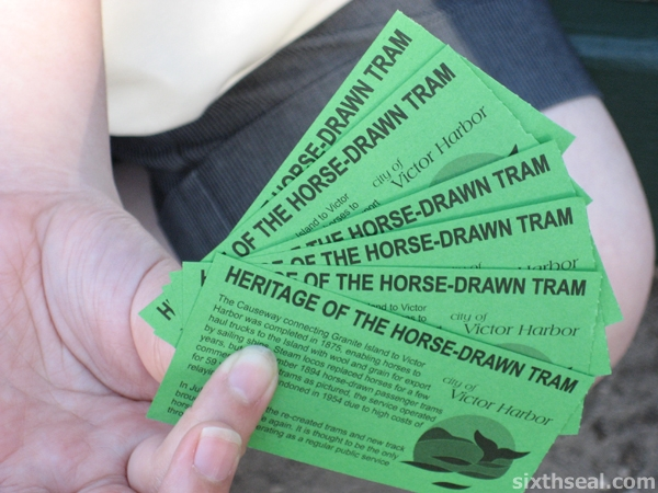 Horse Drawn Tram Tickets