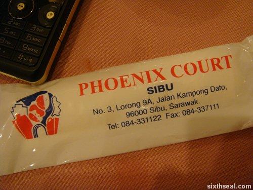 phoenix court napkins