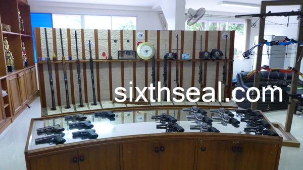 ak rifles guns thailand