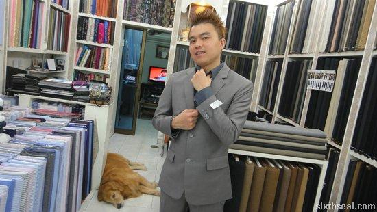 barney suit