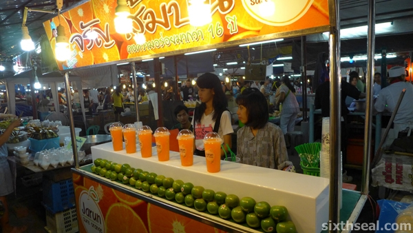 thai orange juice