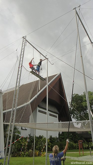 the real trapeze