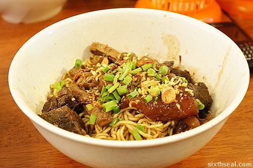 beef noodles
