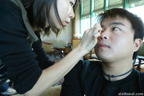 make up artist