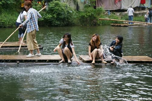 china rafts