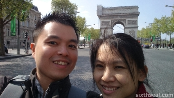 Arc de Triomphe Us