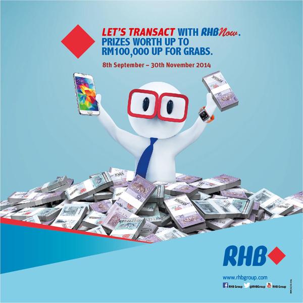 RHBNow Transact Win 2014