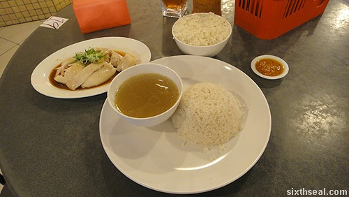 rice bowls chicken rice meal