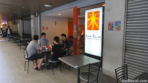 rice bowls restaurant