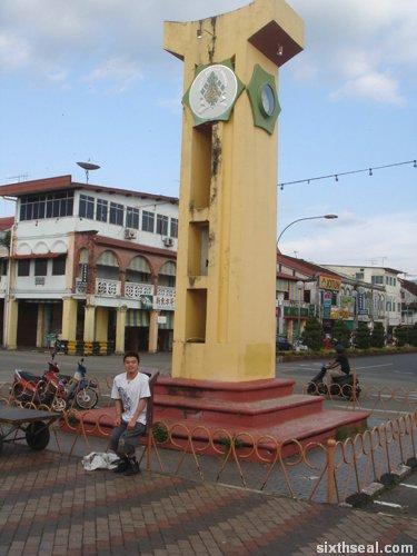 sarikei clock