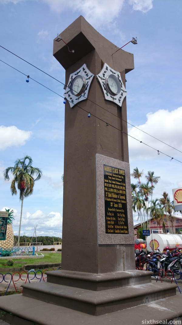 sarikei clock tower