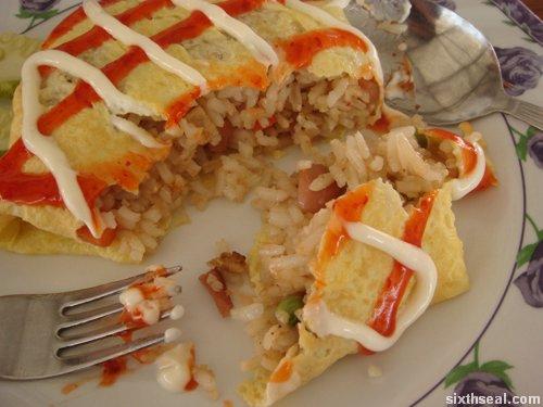 nasi goreng inside