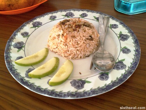 nasi goreng seafood