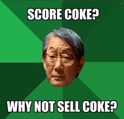 sell coke