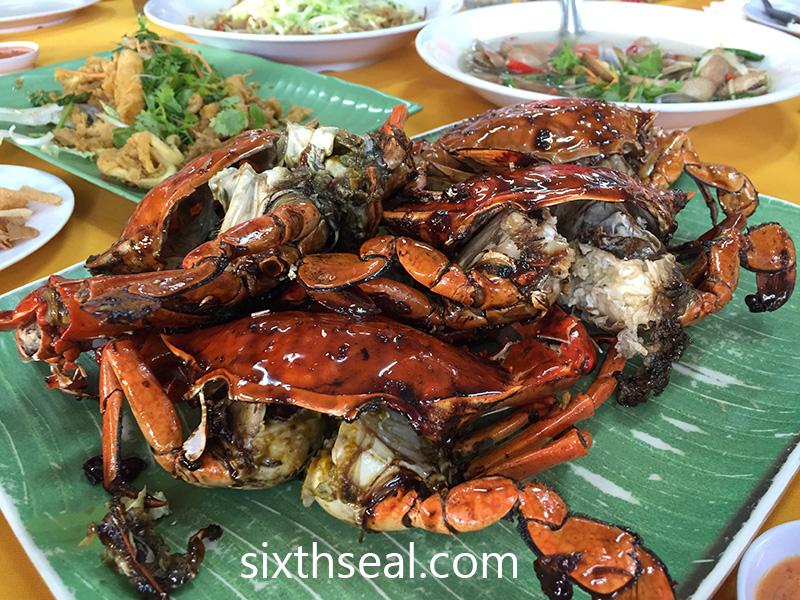 Seremban Baked Crabs