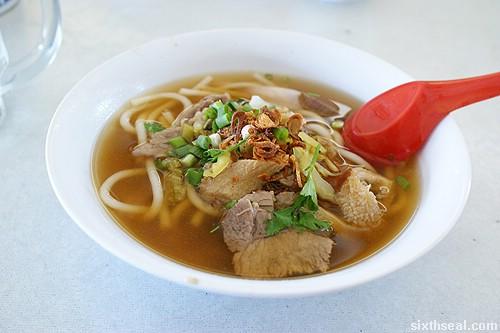seremban beef noodles soup