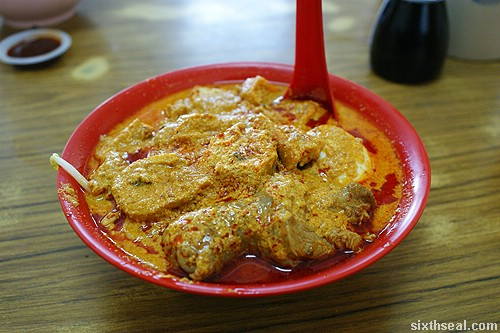seremban curry laksa mixed