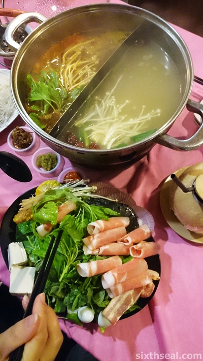 joy of sharing hotpot