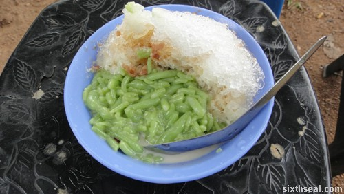 shah alam chendol