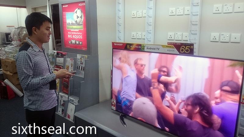 Sharp AQUOS 4K AndroidTV