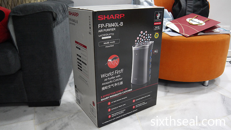 Sharp Air Purifier Haze