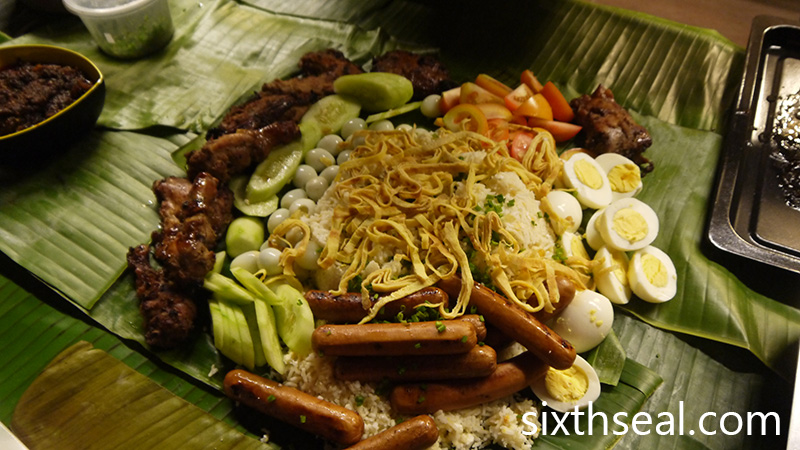 Layering Boodle Feast