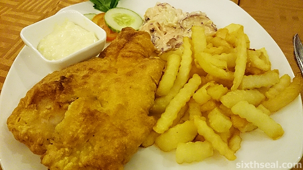 british fish chips