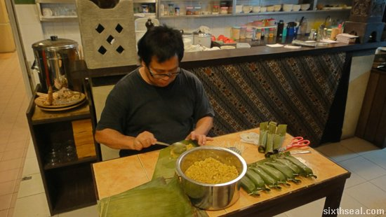 homemade otak otak