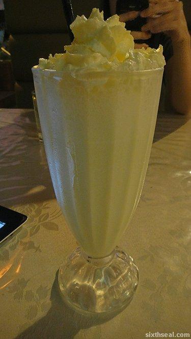 midori milkshake