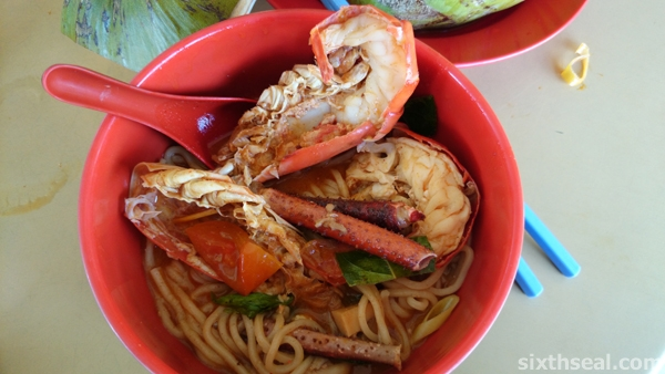sibu big prawn noodles
