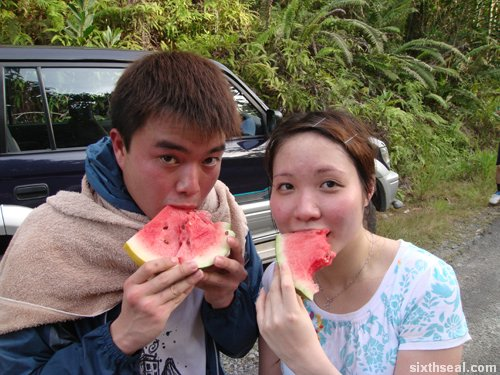 watermelon eat