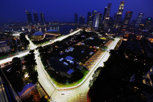 f1 night race