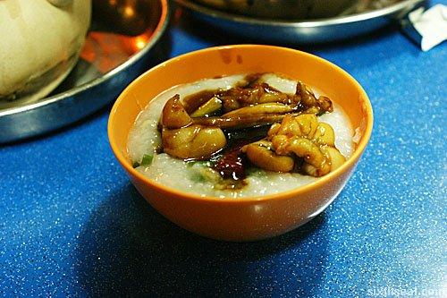 frog leg porridge