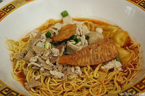 pork noodle dry