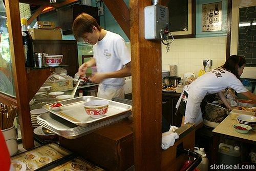pork noodle stall