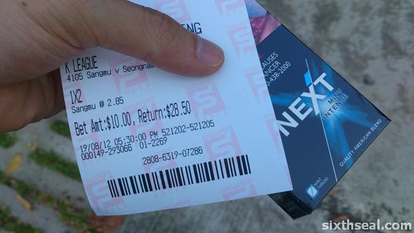 sports betting singapore